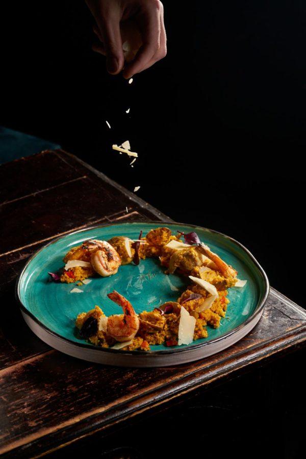Кус кус с морепродуктами